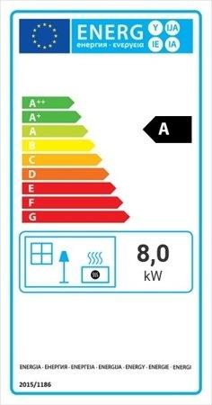 DOSTAWA GRATIS! 30040909 Wkład kominkowy 8kW Maja Deco (szyba prosta) - spełnia anty-smogowy EkoProjekt
