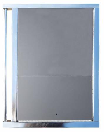 DOSTAWA GRATIS! 50066966 Kuchnia węglowa, angielka z piekarnikiem 9,5-16kW na drewno i węgiel, bez płaszcza wodnego (kolor: kremowy)