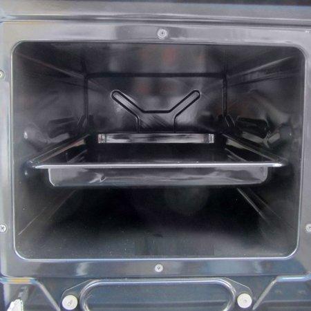 DOSTAWA GRATIS! 50066974 Kuchnia, angielka z wężownicą 11-14kW na drewno (kolor: biały)