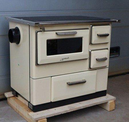 DOSTAWA GRATIS! 88870274 Kuchnia, angielka 9,5kW MBS 7, bez płaszcza wodnego (wyjście spalin: lewy, kolor: beżowy) - spełnia anty-smogowy EkoProjekt