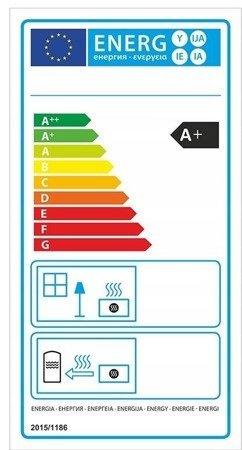 DOSTAWA GRATIS! 99672980 Piec wolnostojący 8kW (kolor: brązowy) - spełnia anty-smogowy EkoProjekt