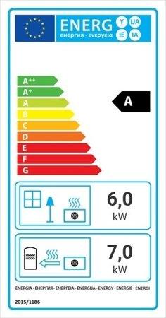 KONS Wkład kominkowy 13kW MBZ PW BS z płaszczem wodnym, wężownicą (lewa boczna szyba bez szprosa) - spełnia anty-smogowy EkoProjekt 30065764