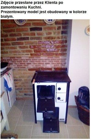 Kuchnia, angielka 5,6kW MINI, Jawor - bez płaszcza wodnego (nieobudowana) 25969039