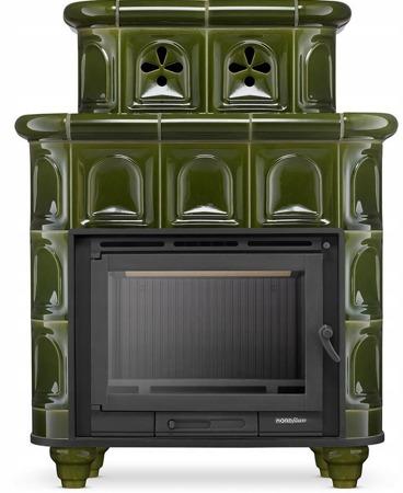 Piec wolnostojący 13-15kW (kolor: zielony) - spełnia anty-smogowy EkoProjekt 99672855