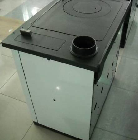 TOPSTOVE Kuchnia stalowo żeliwna z piekarnikiem 14kW z płaszczem wodnym (wylot spalin: 120mm) 58477292